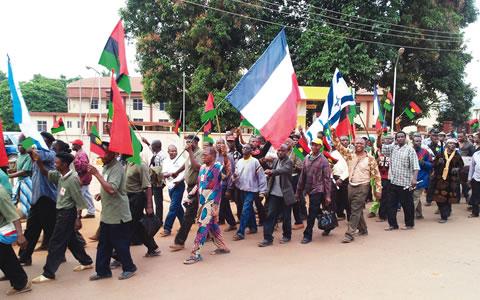 biafra war nigeria