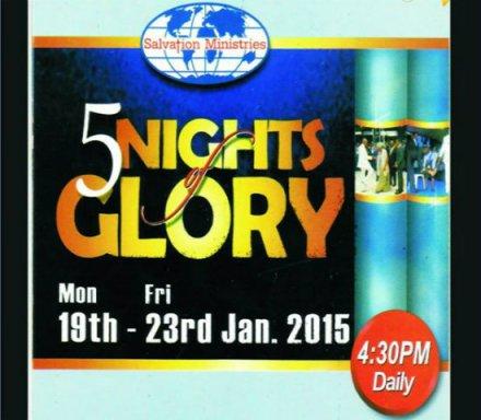 five nights of glory